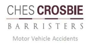 The logo for Ches Crosbie Barristers