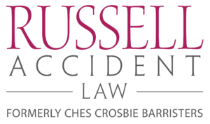 The logo for Russell Accident Law